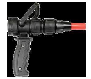 Pincher dual pattern nozzle