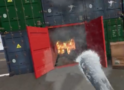 Flaim Virtual Reality fire Fighting Training solutions demo image 4